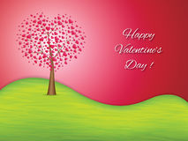 Valentines day greeting card Stock Photo