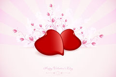 Valentines Day Greeting Card Royalty Free Stock Photo