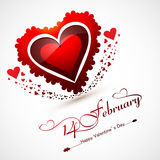 Valentines day for greeting card or wedding invitation card Royalty Free Stock Image