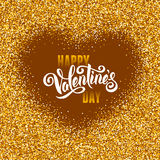 Valentines Day greeting Stock Images
