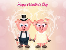 Valentines day greeting Stock Photo