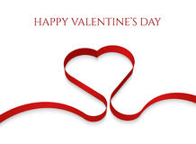 Valentines day greeting vard Stock Image