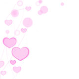 Valentines day, greetings card Royalty Free Stock Photography