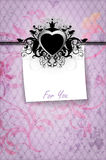 Valentines day greetings Stock Image