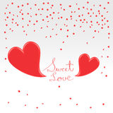 Valentines day greetings Royalty Free Stock Image