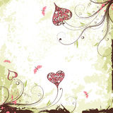 Valentines Day grunge background Stock Photo