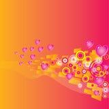 Valentines Day grunge background Royalty Free Stock Image