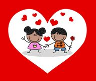 Valentines day or happy birthday royalty free stock images