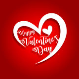 Happy valentines day greeting card vector illustration vector illustration