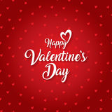 Happy valentines day greeting card vector illustration Stock Images