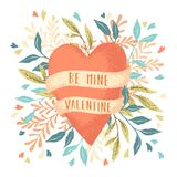 Valentines Day Heart Stock Images