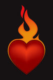 Valentines Day Heart. Vector Drawing Royalty Free Stock Photos