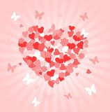 Valentines Day heart Stock Photo