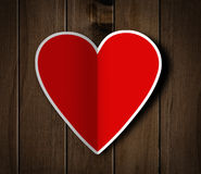 Valentines day heart. Royalty Free Stock Photo