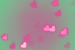 Valentines Day heart background Royalty Free Stock Photography