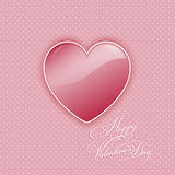 Valentines day heart background Stock Images