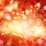 Valentines Day Heart Background Stock Photo