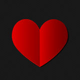 Valentines day heart card Royalty Free Stock Images