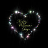 Valentines Day Heart Copy Space Royalty Free Stock Photography