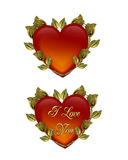Valentines day Hearts Royalty Free Stock Photos