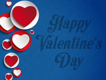 Valentines Day Heart Jeans Background Stock Photo