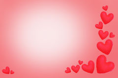 Valentines day heart love element for background. Royalty Free Stock Image