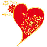 Valentines`day heart Royalty Free Stock Photos