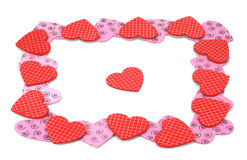 Valentines Day heart-shaped Stock Images