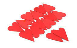 Valentines Day heart-shaped Royalty Free Stock Image