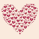 Valentines day heart Stock Photo