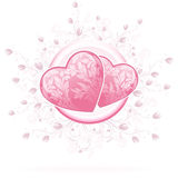 Valentines Day Hearts royalty free illustration