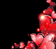 Valentines Day hearts Stock Image