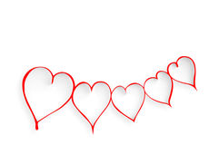 Valentines day hearts. Stock Photography