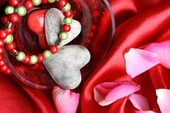 Valentines day hearts Royalty Free Stock Photos