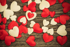 Valentines day hearts Royalty Free Stock Image