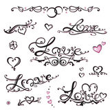 Valentines day, hearts Royalty Free Stock Images