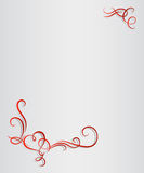 Valentines Day hearts monogram. Vector Royalty Free Stock Photography