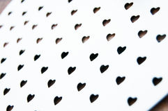 Valentines Day Hearts Pattern. White small hearts for valentine& x27;s day love Royalty Free Stock Image