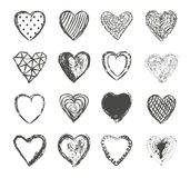 Valentines day hearts set vector Stock Photos