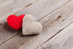 Valentines day hearts Stock Photography