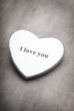Valentines day hearts. Valentine day greating card. Stock Images