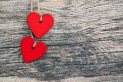 Valentines day hearts Stock Photo