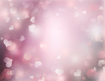 Valentines day holiday blurred pink background. Valentines day holiday blurred background.Romantic pink wallpaper backdrop empty copy space Stock Photos