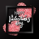 Valentines day holiday decoration. Stock Photos
