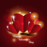 Valentines Day. Holiday theme illustration Stock Image