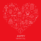 Valentines Day icon Royalty Free Stock Image