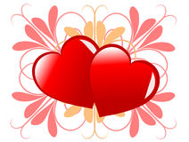 Valentines Day Illustration Royalty Free Stock Photo