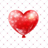 Valentines day illustration card background happy Valentine`s da Stock Images
