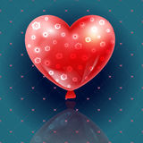 Valentines day illustration card background happy Valentine`s da Royalty Free Stock Photography