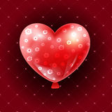 Valentines day illustration card background happy Valentine`s day Royalty Free Stock Photography